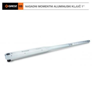 GROZ Nasadni momentni aluminijski ključ